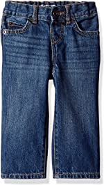 The Children's Place Boys' Baby and Toddler Basic Straight Jeans