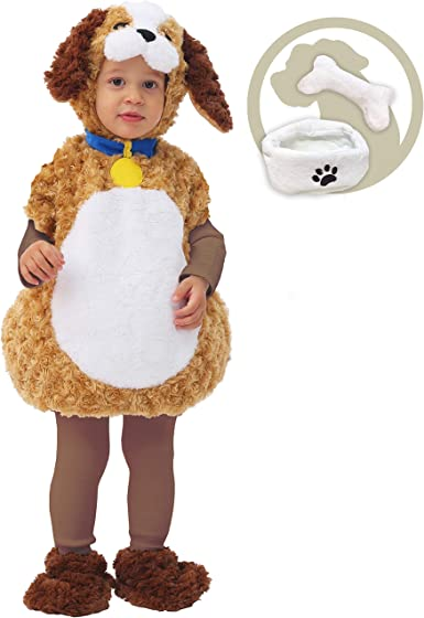 Infant Toddler Cuddly Puppy Animal Costume