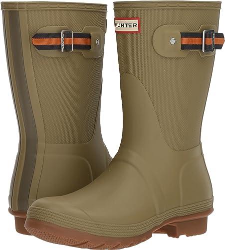 53cea6e59 hunter Womens Original Sissinghurst Short Rain Boots Size: 11 B(M) US