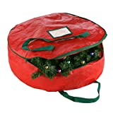 Amazon Price History for:Elf Stor Red Holiday Christmas Wreath Storage Bag for 24-Inch Wreaths