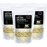GreenIVe - Hemp Hearts - Hulled Hemp Seeds - Protein + Fiber - Exclusively on Amazon (3 Pounds)