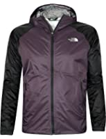 The North Face Men's Boreal Full Zip Rain Jacket Outerwear dark egg plant purple