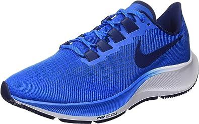 Racionalización Desmenuzar Roble  Nike Air Zoom Pegasus 37, Zapatilla de Correr para Hombre, Foto Azul/Azul  Vacío/Blanco, 42 EU: Amazon.es: Zapatos y complementos
