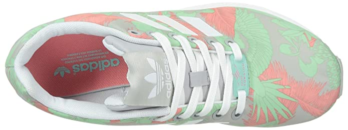 detailed look 2c76e 34240 adidas ZX Flux Womens Trainers Green Size 4 Amazon.co.uk Sho