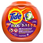 Tide PODS Liquid Laundry Detergent Pacs, Spring Meadow, 57 count