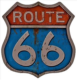 ROST MAGNET MAIN STREET USA UNITED STATES # Nostalgic Art ROUTE 66