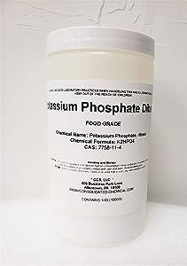 Potassium Phosphate, Dibasic Food Grade 1kg (1000g) Jar