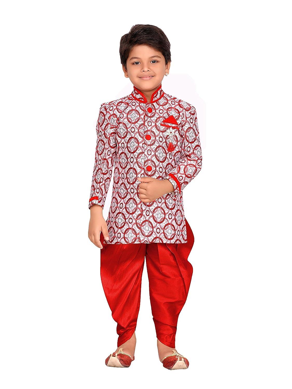 AJ Dezines Kids Indian Wear Bollywood Style Salwaar Sherwani for Boys 606-$P