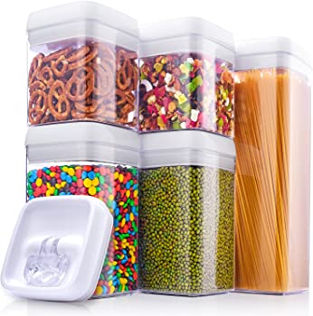 5-Piece ME.FAN Large Air-Tight Food Storage Container Set