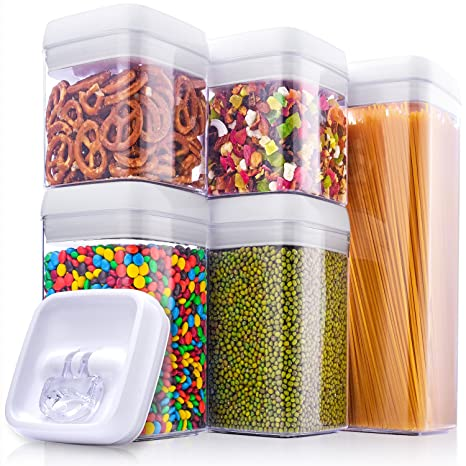 Amazoncom MEFAN Large Air Tight Food Storage Container Set 5