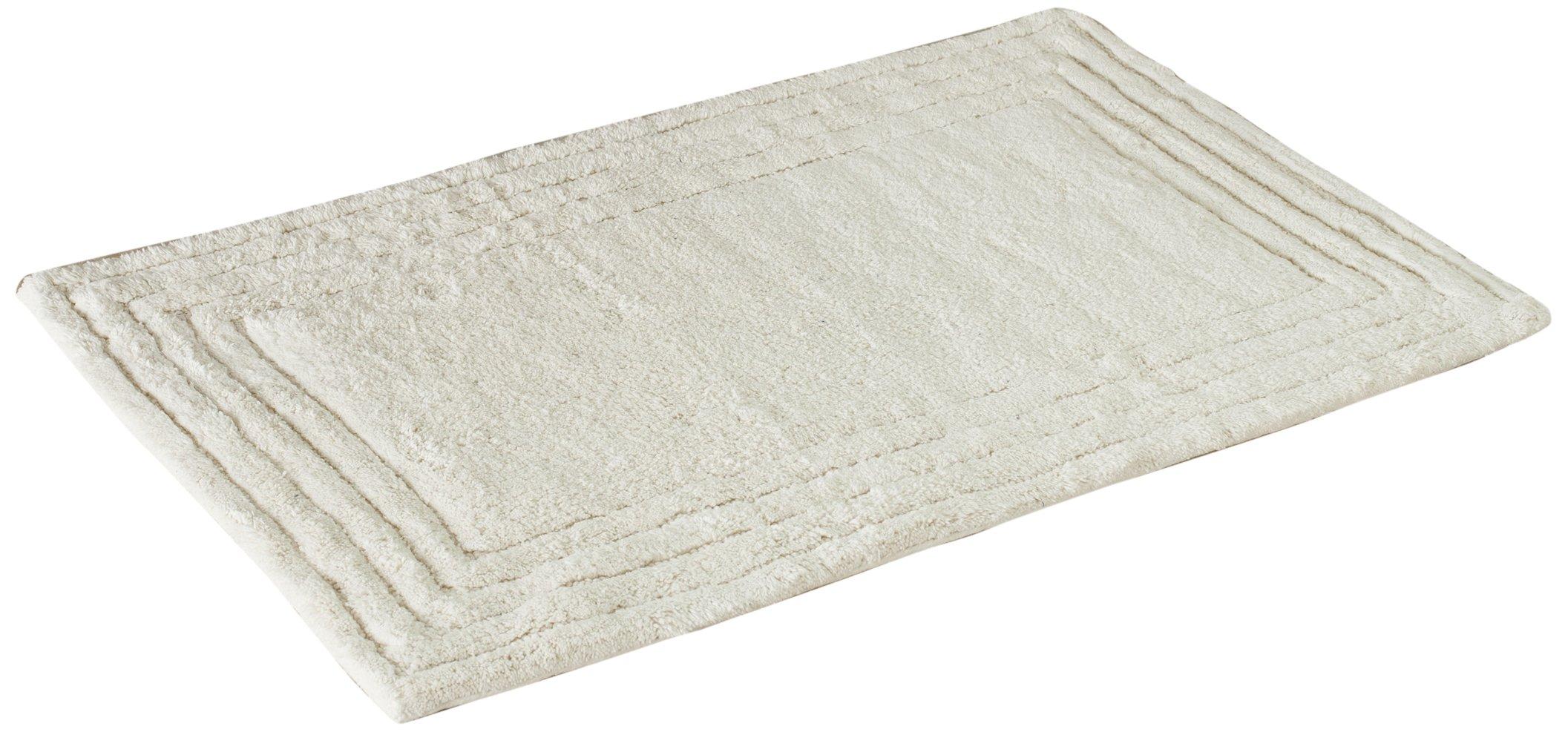 Safavieh Plush Master Bath Collection PMB631N Handmade Natural Cotton Bath Mat, 2 feet 3 inches by 3 feet 9 inches (2'3'' x 3'9'') (Set of 2)