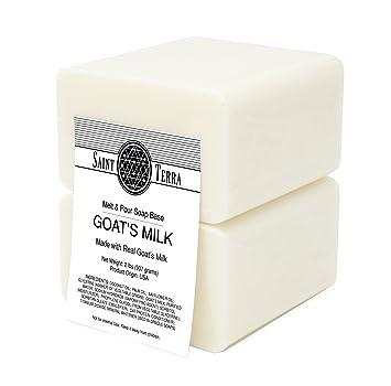 Santa Terra – Leche de cabra 2 kg Derretir y verter Base de jabón