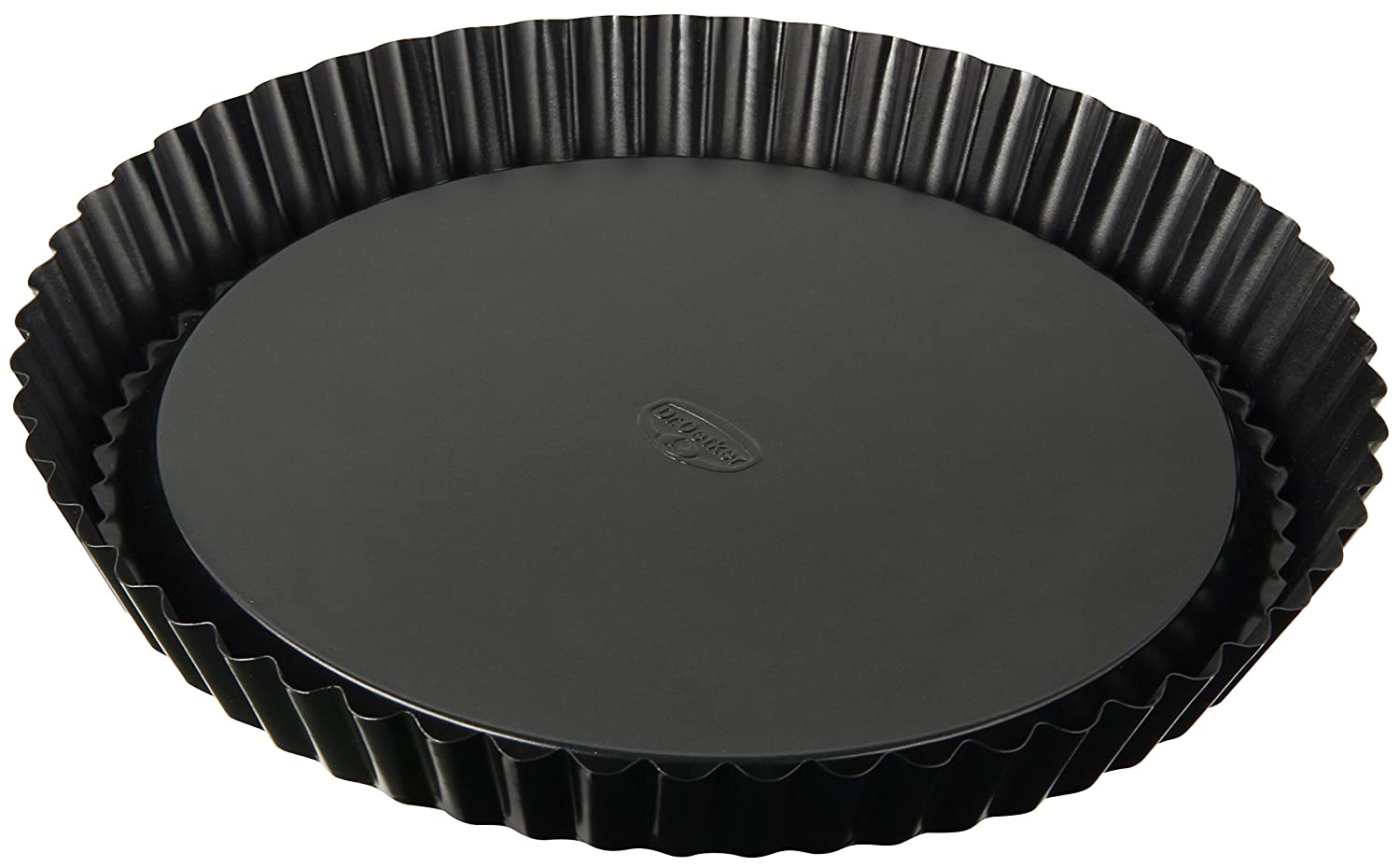 Dr. Oetker Tradition 28 cm Non-Stick Bakeware Flan Tin, Black Leifheit 1449