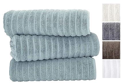 Amazon Com Classic Turkish Towels 3 Piece Luxury Bath Sheet Set
