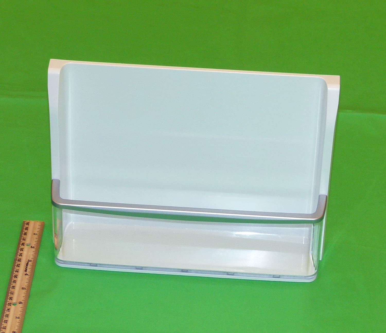 OEM LG Refrigerator Door Bin Basket Shelf Tray Assembly Originally Shipped With: LFX28978SB, LFX28978ST, LFX28978SW, LFX28979SB