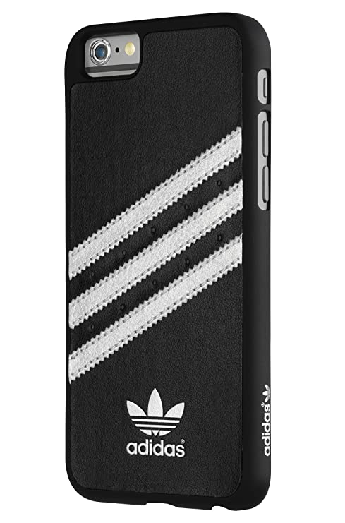 san francisco 11449 516b1 Adidas Moulded Case - Funda para Apple iPhone 6, negro y plateado