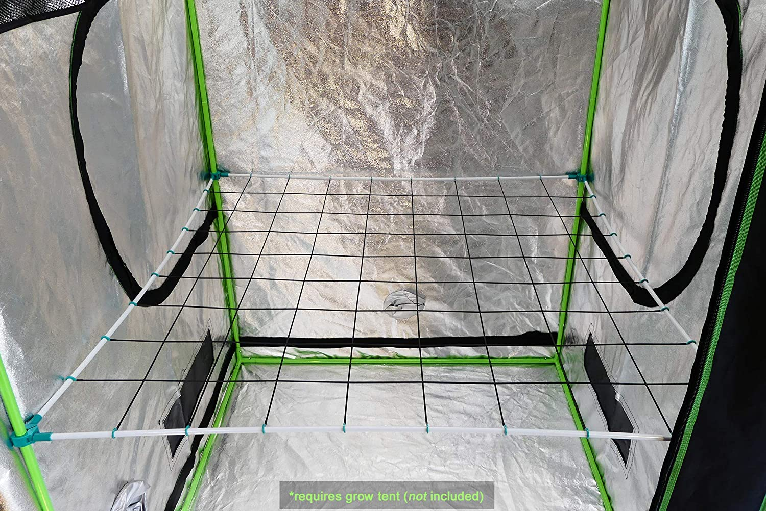 Scrog-Pro Trellis System for 4x4 Grow Tents Large 3//4 connectors