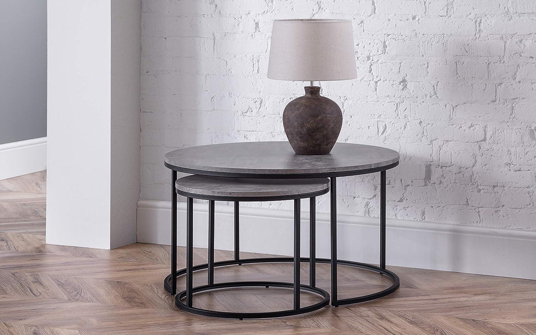 effetto cemento taglia unica Tavolino da caff/è Seconique Athens