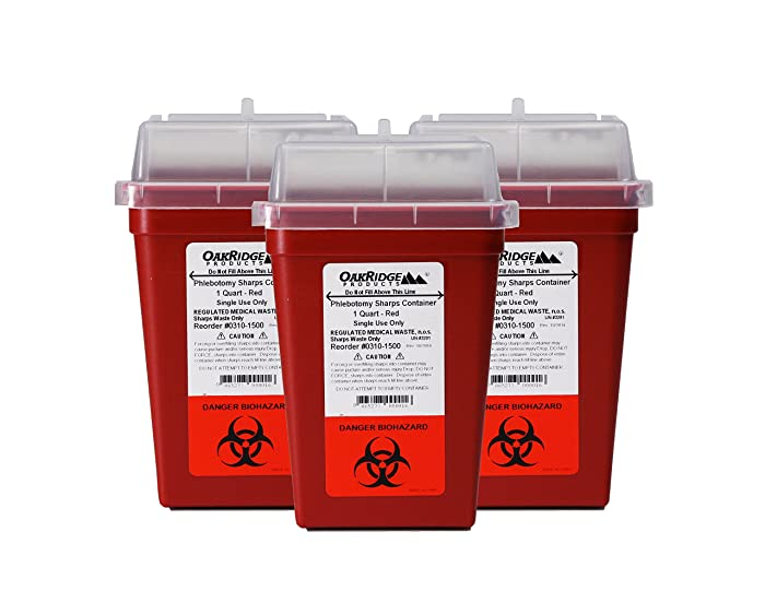 Top 8 Syringe Disposal Container Home