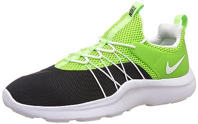 buy popular c8b41 f1e09 Nike Mens Darwin Black White Electric Green Casual Shoes Lightweight  Comfort Athletic Running Sneaker (