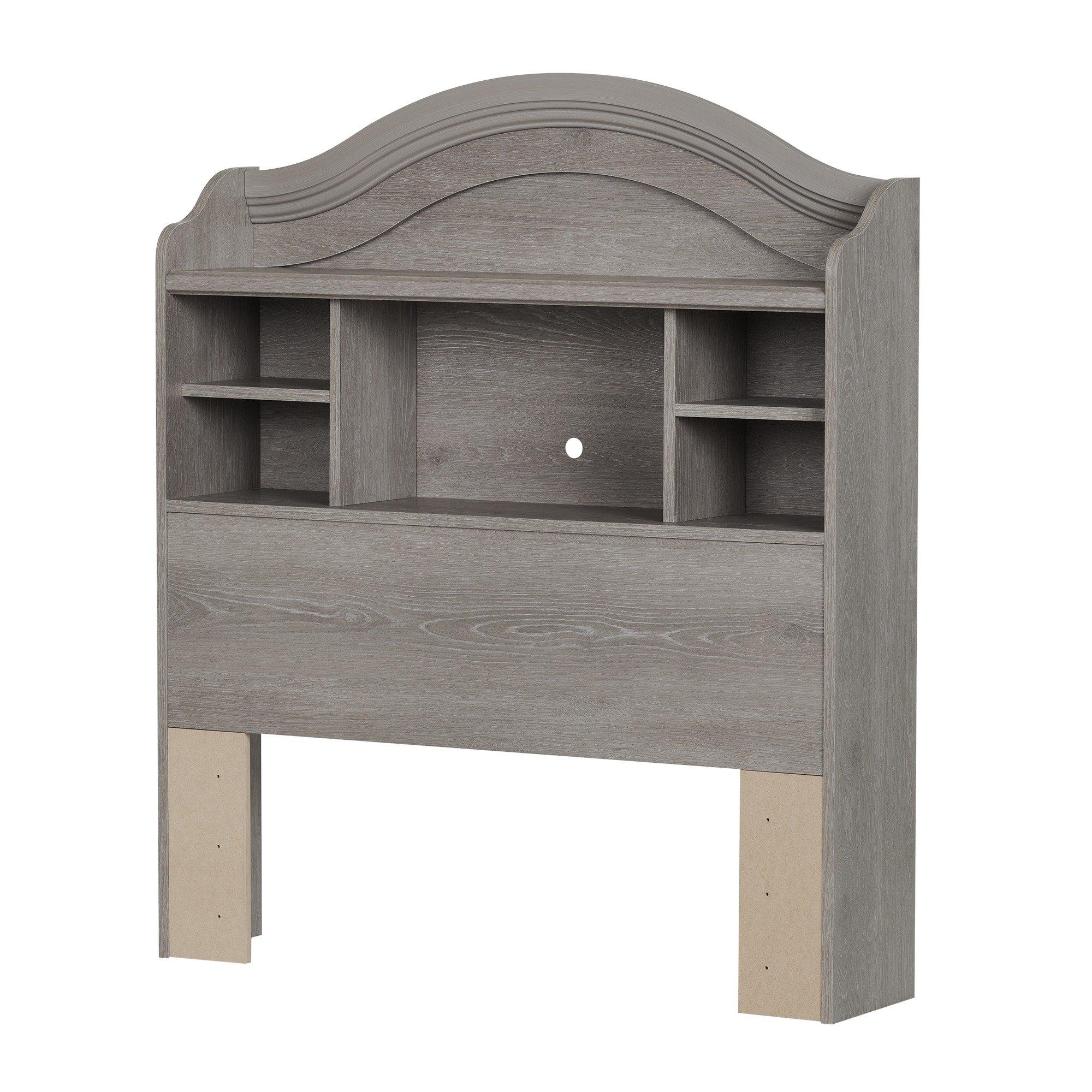 South Shore 10596 Savannah 39'' Twin Bookcase Headboard, Sand Oak by South Shore