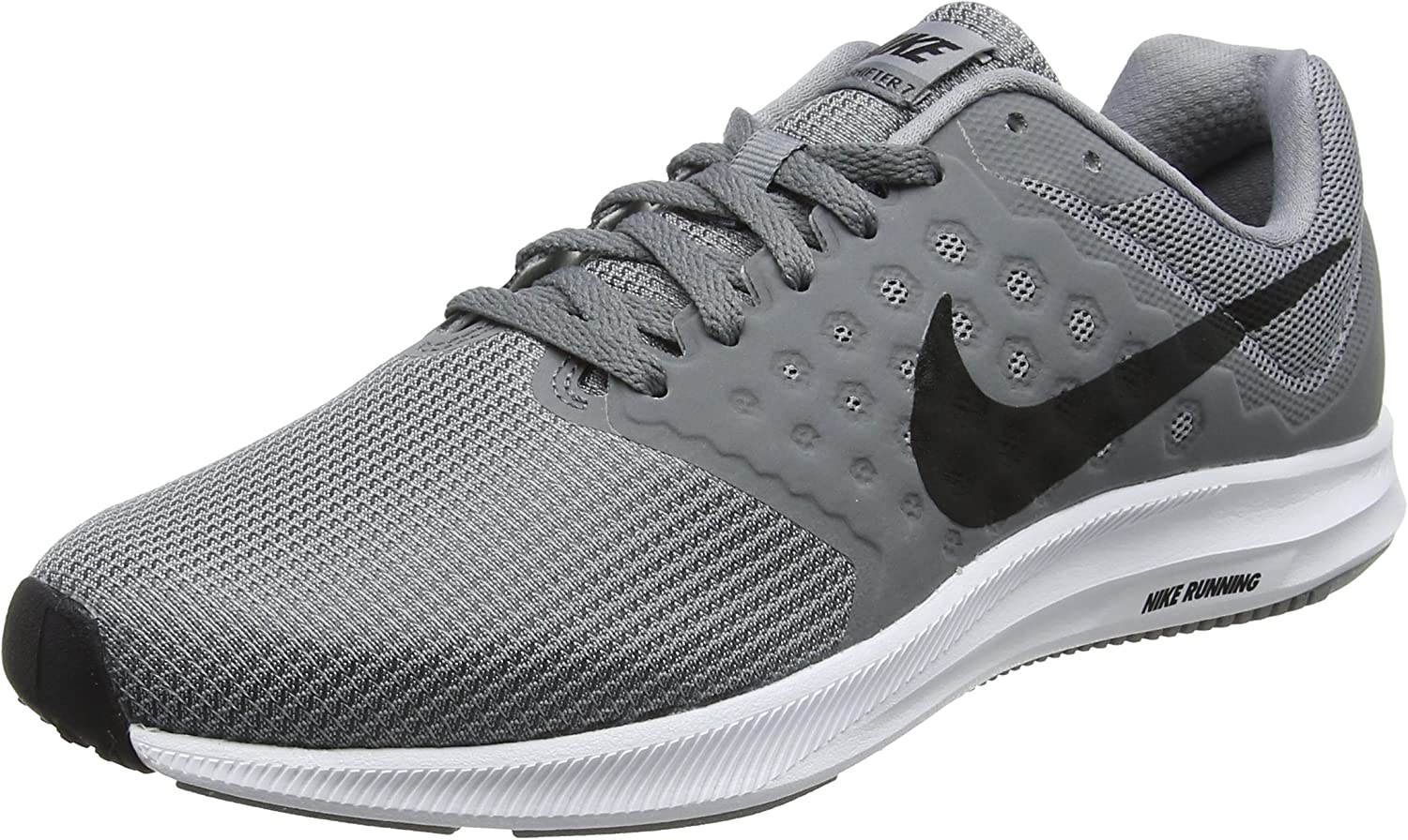 Nike Men s Downshifter 7 Running Shoe Stealth Black Cool Grey White Size 8 M US
