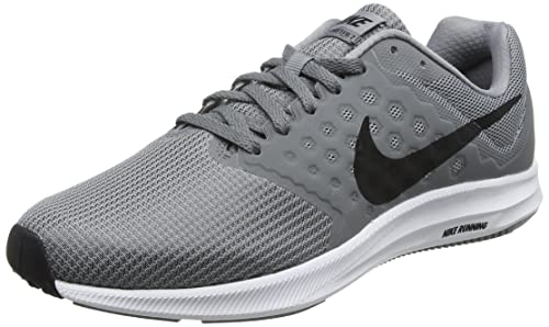 9c66ee78b85be Nike Downshifter 7 Stealth Black Cool Grey White Men s Running Shoes ...