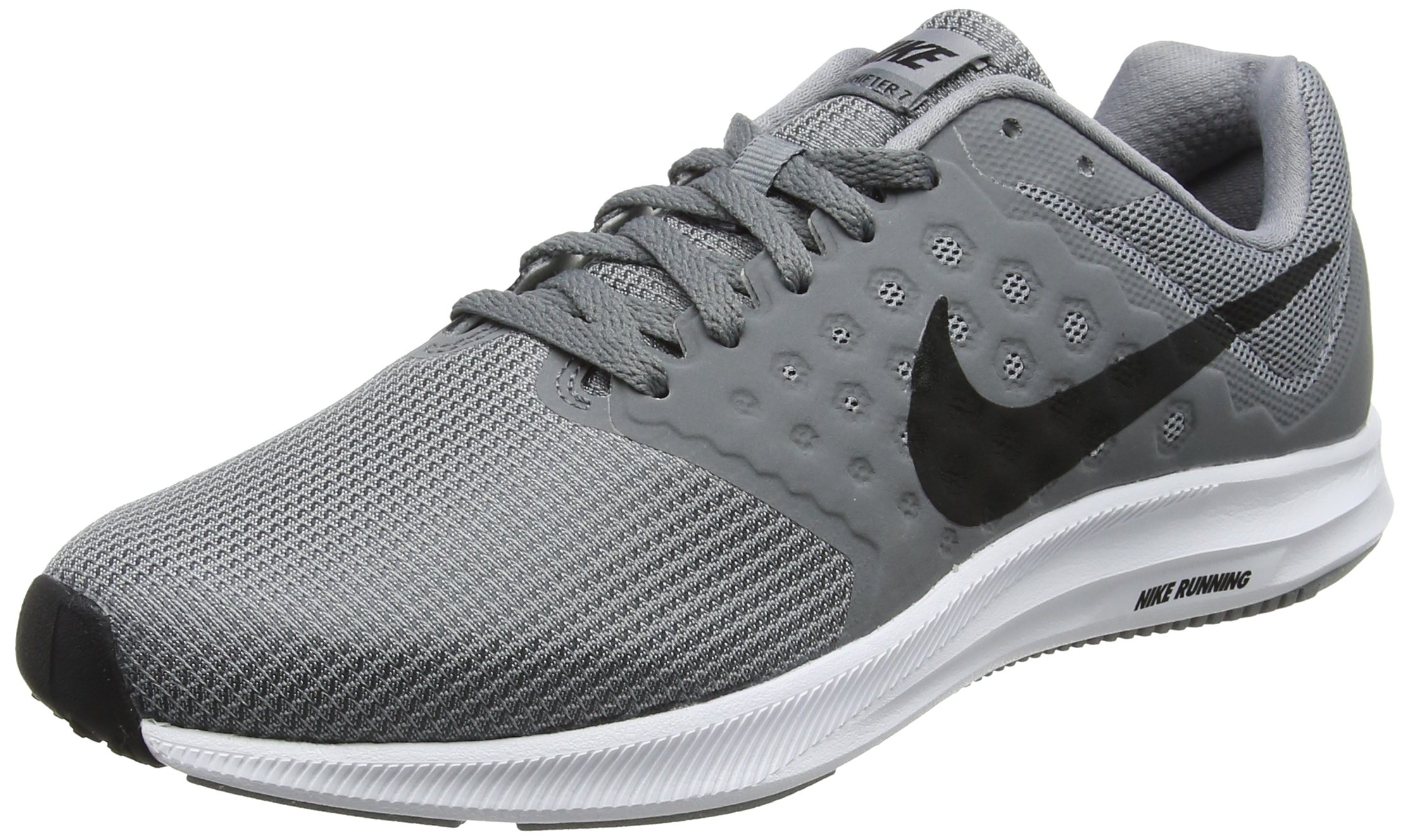 9e2b2a8bf60f9 Galleon - Nike Men s Downshifter 7 Running Shoe Stealth Black Cool Grey White  Size 12 M US