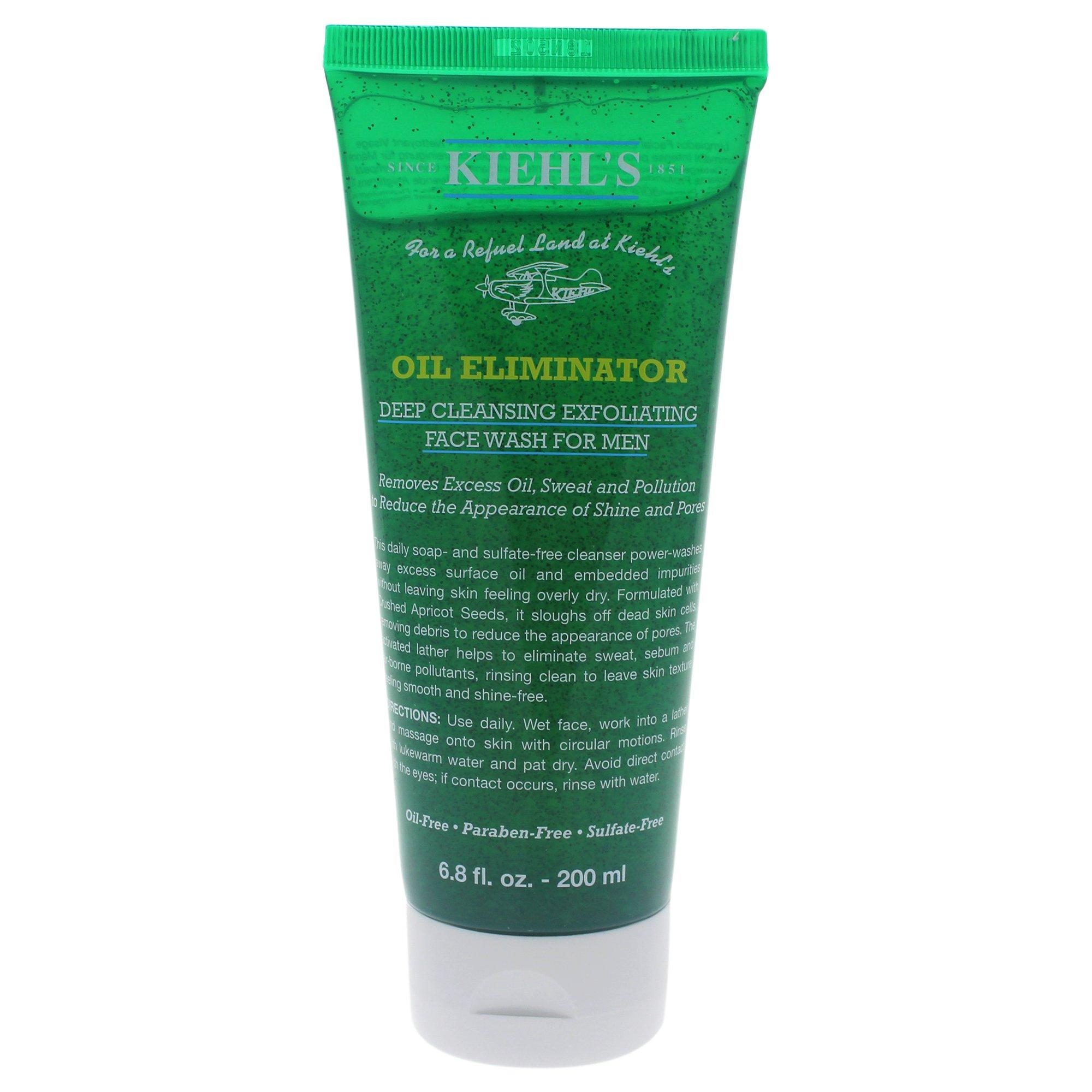 Kiehl's Men Oil Eliminator Deep Cleansing Exfoliating Face Wash 200 ml