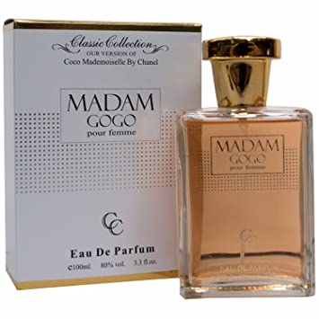 Amazon.com : Madam GOGO Coco Mademoiselle Perfume For Her 3.3 oz Eau de Parfum (Imitation) : Beauty