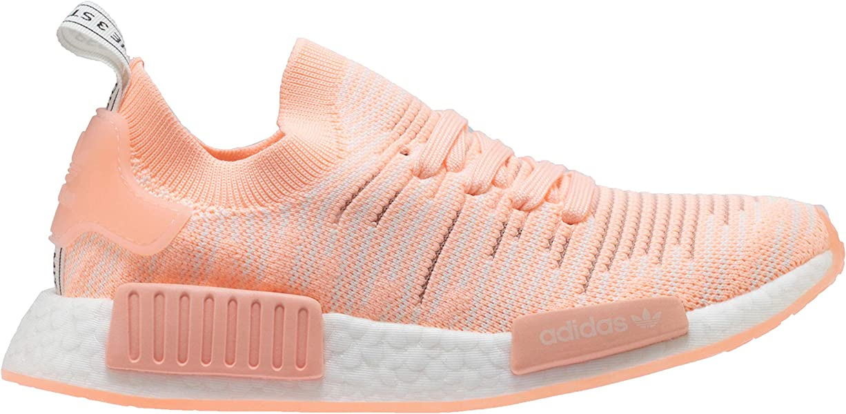 8c80c7b56038 adidas Originals Women s NMD R1 Pink Clear Orange Clear Orange Cloud ...