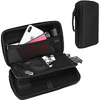 ProCase Estuche Duro de Viaje para Gadget Electrónicos, Bolsa Organizador para Accesorios Cargador Cable Memoria USB…