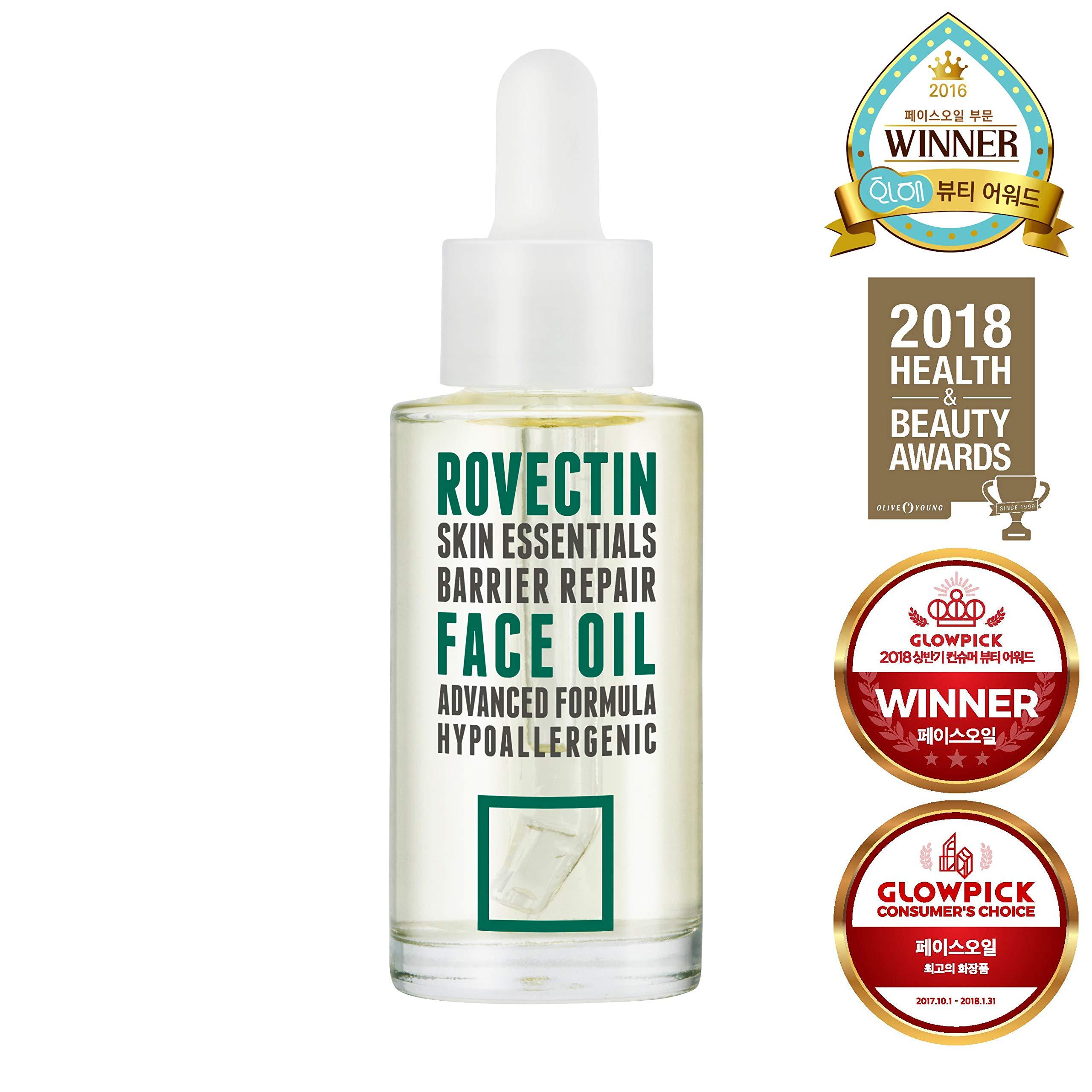 Rovectin Barrier Repair Face Oil 1 fl oz-Anti-Aging Facial Oil and Moisturizer with Neroli Oil and Antioxidant Vitamin E