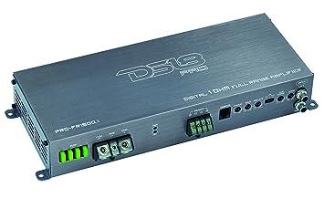 DS18 1500 W Amplificador de Clase D Gama Completa Mono Solo Bloque de Audio de Coche