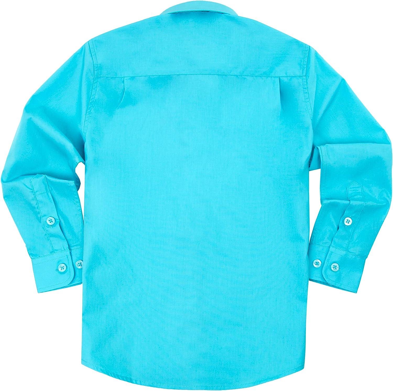 Spring Notion Baby Boys Long Sleeve Dress Shirt 18M Cobalt Blue
