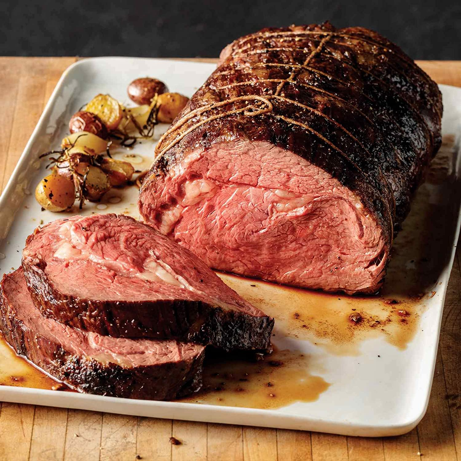 Omaha Steaks Boneless Heart of Prime Rib Roast (4-Pound)