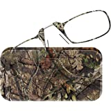 ThinOPTICS Reading Glasses + Universal Pod Case | Camouflage Collection, Mossy Oak Break-Up Country, 2.00 Strength, Lifetime Guarantee
