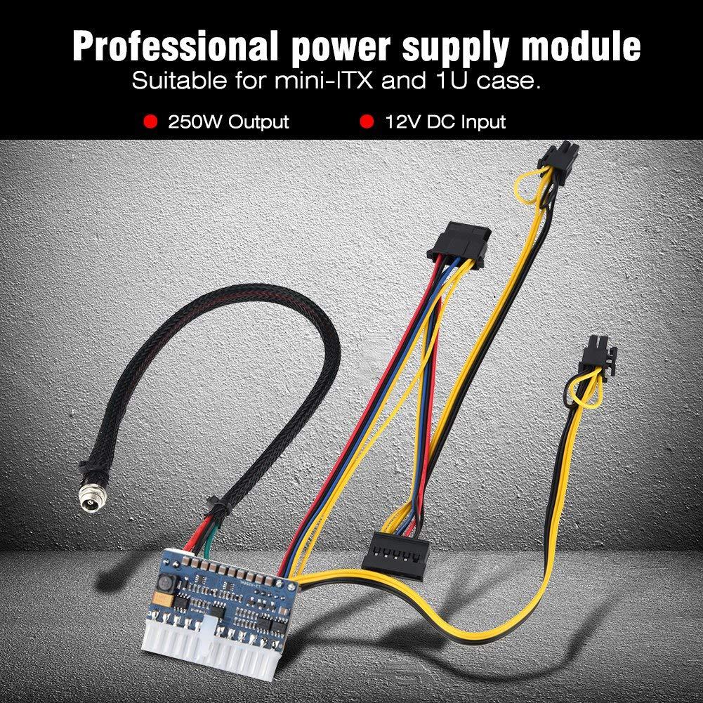 Richer R Pc Power Supply Module 24pin Dc Atx Mini Itx Ac Wiring Diagram For 12v Transformer Psu Input 250w Output Switch Electronics