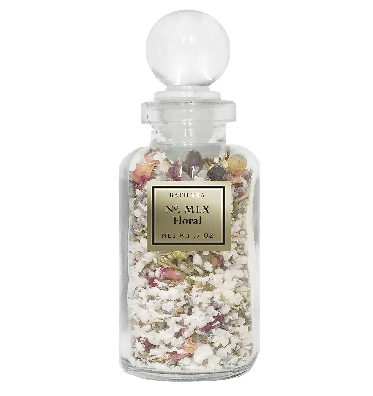 Bath Tea - Sinus Relief - Natural Bath Soak - Herbal Tea Bath - Collectible Glass Apothecary Bottle BIOS Apothecary