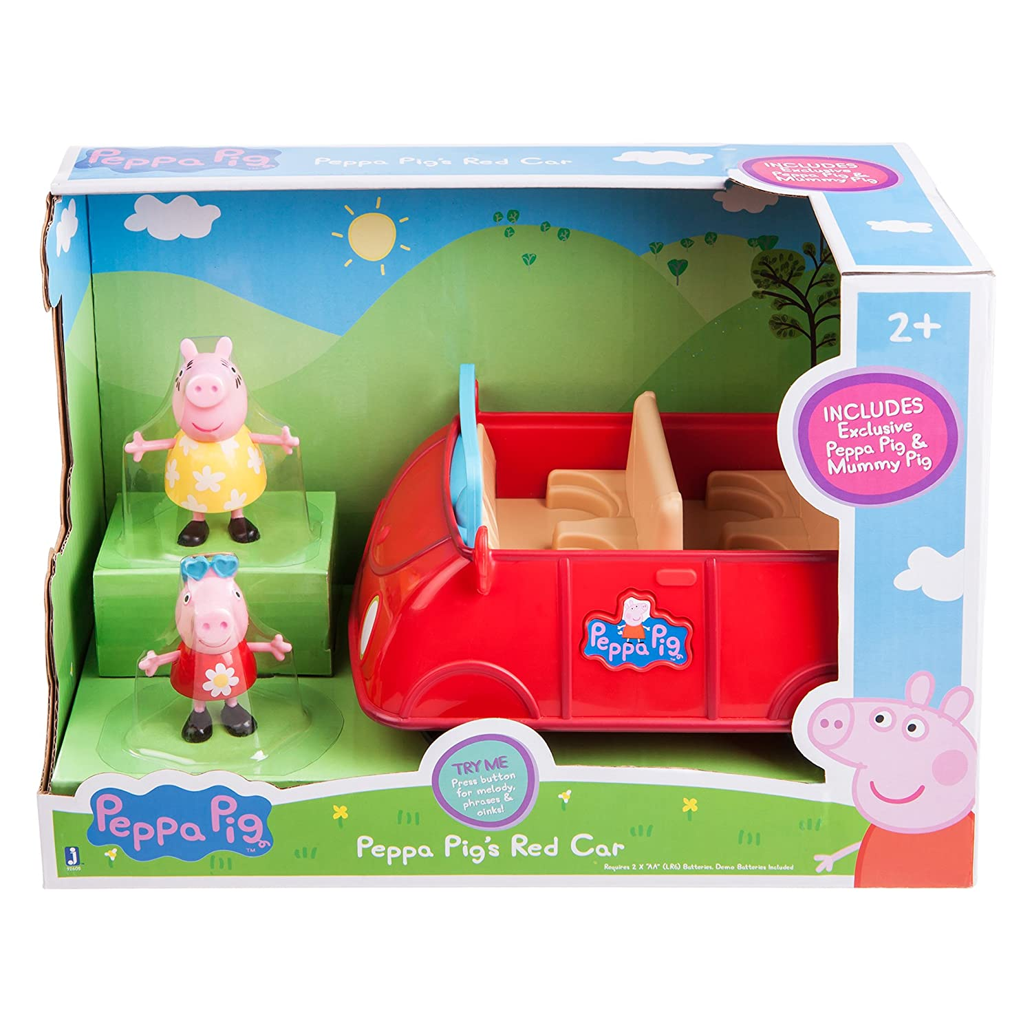 Amazon Peppa Pig s Red Car Toys & Games