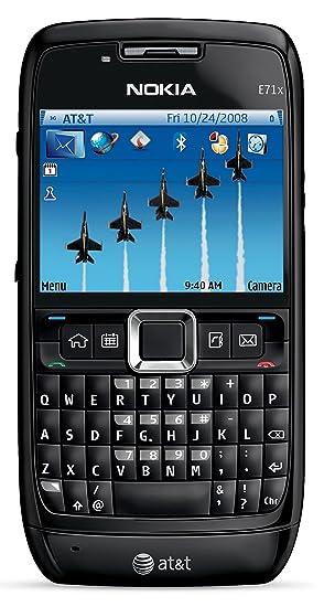 Nokia E71x Unlocked GSM Symbian 9 2 OS QWERTY Cell Phone - Black