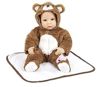 Amazon.es: Small Foot 11497 Bebé con Traje de Osito, Incl ...