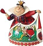Enesco Disney Tradition By Jim Shore Alice Nel Paese Delle Meraviglie Regina Di Cuore, Pvc, Multicolore, 12x16x18 cm