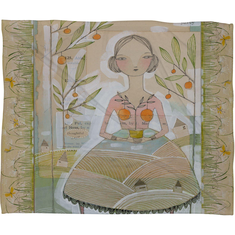 Deny Designs Cori Dantini Always Thoughtful Fleece Throw Blanket 50 x 60