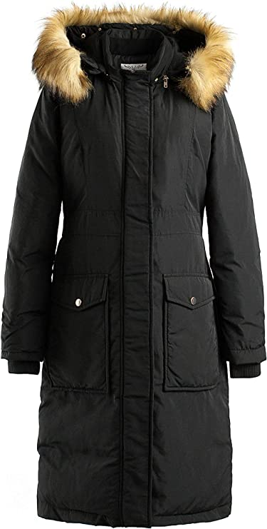 Greenis Winter Women Parkas Coat Hooded Cotton-padded Jacket