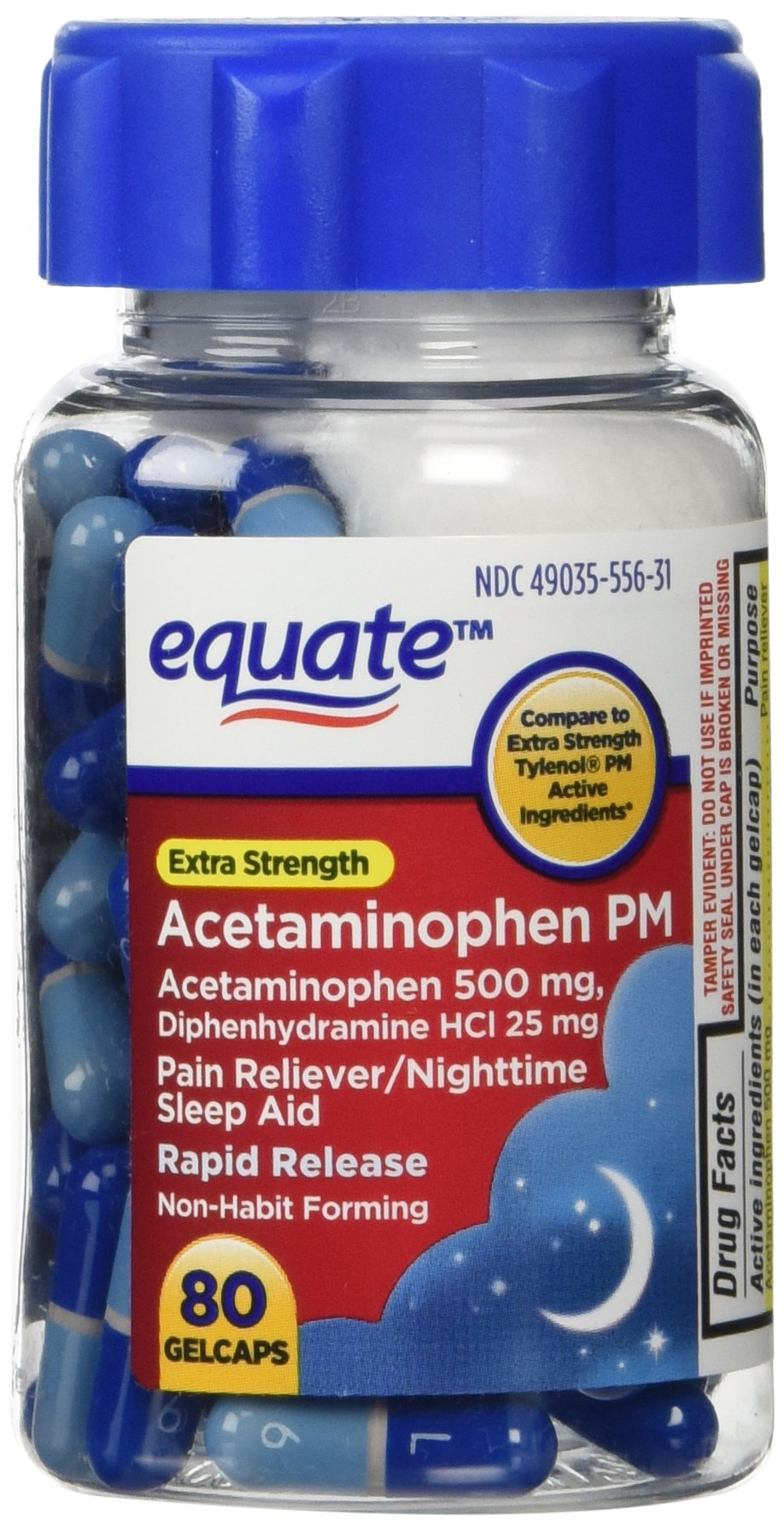 Tylenol Extra Strength PM Rapid Release Gelcaps picture