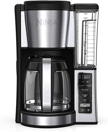 Best Ninja CE251 Programmable Brewer, with 12-cup Glass Carafe, Black and Stainless Steel Finish