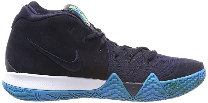 Amazon.com | Nike Mens Kyrie 4 Basketball Shoes (13, Dark Obsidian/Black) | Basketball
