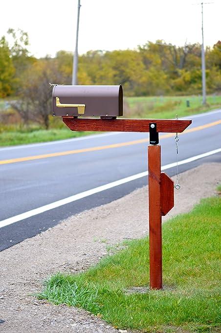Diy plow resistant mailbox post hardware kit stainless pivot diy plow resistant mailbox post hardware kit stainless pivot standard solutioingenieria Choice Image