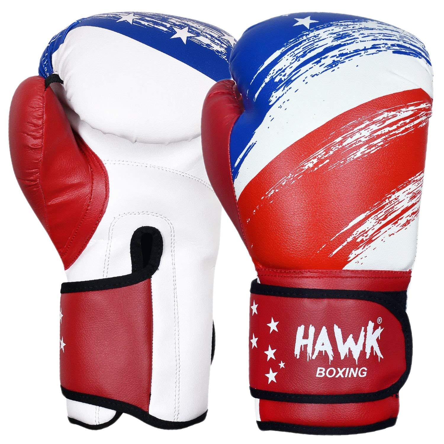 1 Year Warranty!!!! Hawk Boxing Gloves for Men /& Women Training Pro Punching Heavy Bag Mitts UFC MMA Muay Thai Sparring Kickboxing Gloves